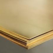Прокат латунный-лист:Л63М 0,7x600x1500 фото