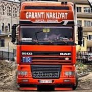 Водитель TIR фото