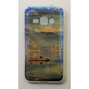 Чехол на Самсунг Galaxy J1 (2016) J120H Силикон перламутр Лодка фото