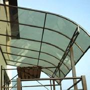 Монолитный поликарбонат бронзовый, 3мм VIZOR (Чехия) фото