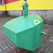 Противовес Tridaagro трех точечный передний на трактор (806 кг.) фото