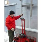 Испытание ограждений и пожарных лестниц фото