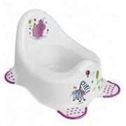 Горшок Hippo - белый OKT. 8648. фото