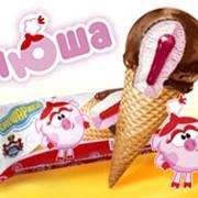 Мороженое плодово-ягодное Нюша Клубничный джем фото
