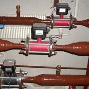 Монтаж систем регулирования параметров тепло- и водоснабжения фото