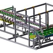 Оборудование для формирования коробов. Машина для склейки коробов МСК 2200. Купить оборудование для производства коробок фото