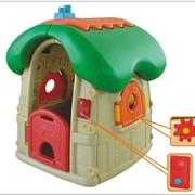 Детский домик из высококачественного пластика фото