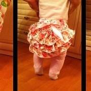 Трусики-юбка для малышек фото