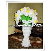 Цветы из воздушных шаров, букет, воздушные композиции, заказать, Киев,Киевская область, доставка фото