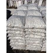 Мраморная Крошка чисто белого цвета 20кг. фр.5-10м фото