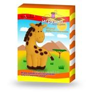 Набор для изготовления мягкой игрушки Жираф . ТК-005 фото