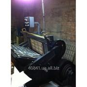 Б/У полуавтоматический станок для высечки фото