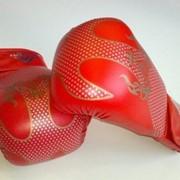 Перчатки № 1-57 красные фото