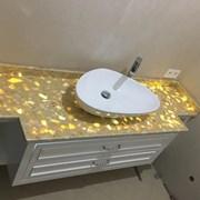 Столешницы для ванных комнат фото