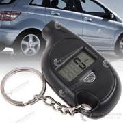 Манометр для измерения давления в автомобильных шинах с ЖК-дисплеем в виде брелока фото