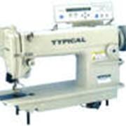 Типикал GC 6180 Высокоскоростная автоматизированная одноигольная швейная машина челночного стежка фото
