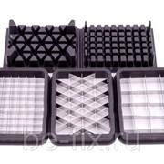 Набор насадок нарезки кубиками от блендера Philips. Оригинал фото