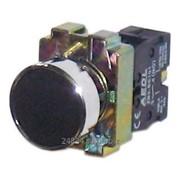 Кнопка XB2-BA21, черная, металл. осн., 1НО контакт фото