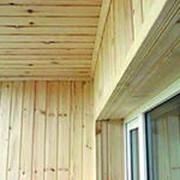Отделка балконов евровагонкой от 1200р/м2 с материалом! фото