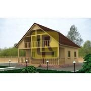 Дом из бруса Проект №20 (8х8) фото
