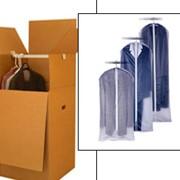 Коробка картонная гардеробная для переезда фото