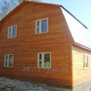 Дома каркасные из дерева фото