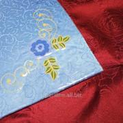 Скатерть с вышивкой 1716 фото