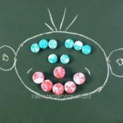 Кнопка магнитная редкоземельная КМР 1 фото