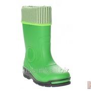 Резиновые сапоги утепленные зеленые Bartek 16-33466/A-ZPZ -З фото