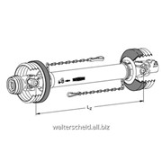 Вал карданный Walterscheid W типоразмер 2500, LZ 1010 фото