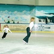 Ледовый каток в Большевике фото
