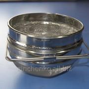 Фильтр для меда круглый 200 мм нержавейка фото
