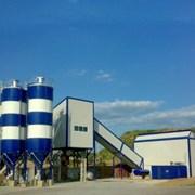 Зимний Стационарный бетонный завод фото