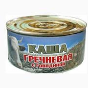 Каши гречневые консервированные фото