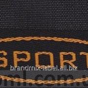 Этикетка для спортивных изделий мод 049/1038 фото