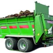 Разбрасыватели органических удобрений TSW. Разбрасыватели серии TSW предназначены для выноса таких ценных удобрений как известь, компост, дефекат, почва из отстойников, куриный помет и всех органических удобрений. фото