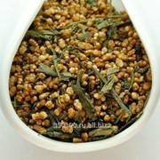 Зелёный чай Генматча Сенча с рисом 25г фото