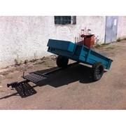Прицеп к мотоблоку «БЕЛАРУС ТМ-700» (Подходит ко всем видам мотоблоков) фото