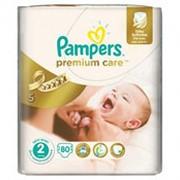 Подгузники PAMPERS Premium Care 2 (3-6 кг), 80 шт фото