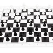 Игра настольная. Шахматы настольные классические + поле 28,5х28,5 см фото