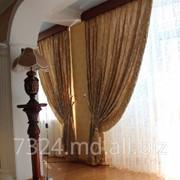 Шторы декоративные в Молдове фото