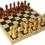 [501039]_Шахматы обиходные лакированные, арт. Р-1 фото