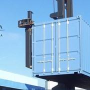 Ремонт и техническое обслуживание контейнеров осуществляется на постоянной основе, обеспечивая их бесперебойное функционирование фото