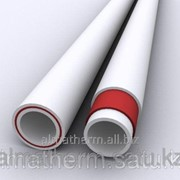 Труба ППР с нар. армировкой белый (PN 25) 40 Jakko фото