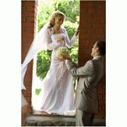 Свадебное платье ручной работы фото