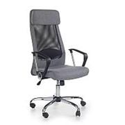 Кресло компьютерное Halmar ZOOM (черно-серый) фото