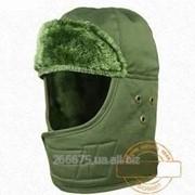Военная зимняя теплая шапка фото