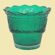 Лампада Ландыш зеленая. Арт. Ст.2196. фото