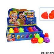 Занимательная игрушка жвачка для рук в яйце 14-1561 фото