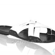 Сабо мужские М-32, белый фото